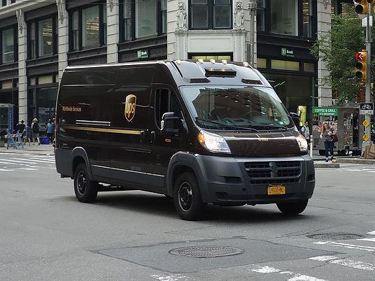 UPS Truck downtown 2 (editorial).jpg