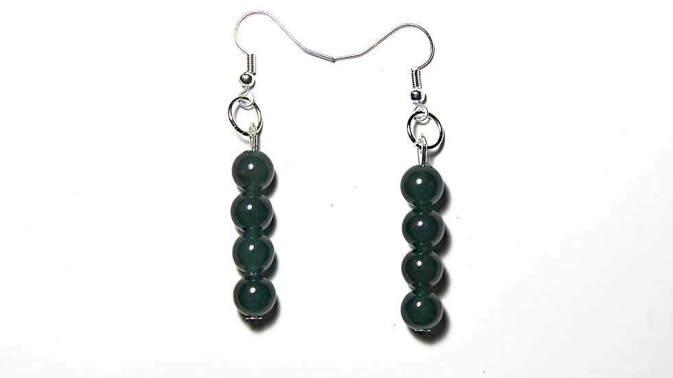 DUCK GREEN EARINGS