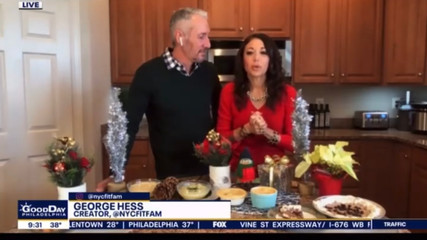 "We Helped ""Good Day Philadelphia"" Make the Holidays Healthy!"