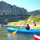 Canoe kayak Balazuc Ardèche