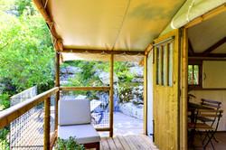Cabane Le Vallon - Terrasses
