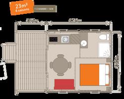Cabane Le Vallon Plan