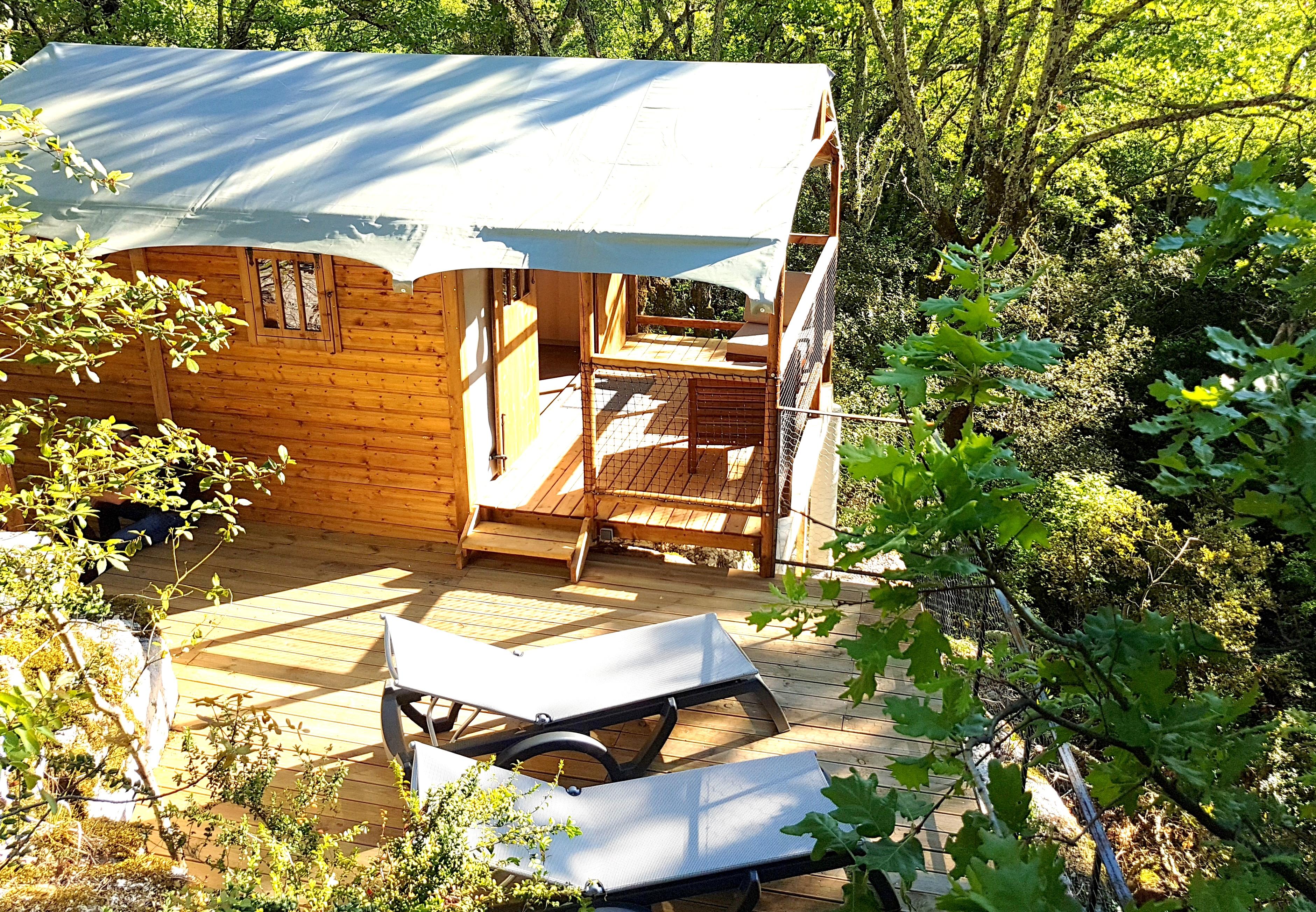 Cabane-Lodge Le Vallon