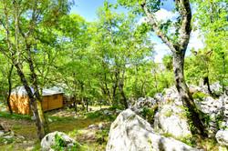 Cabane-Lodge Le Cade - Balazuc