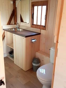 Cabane Le Vallon - Salle de bain