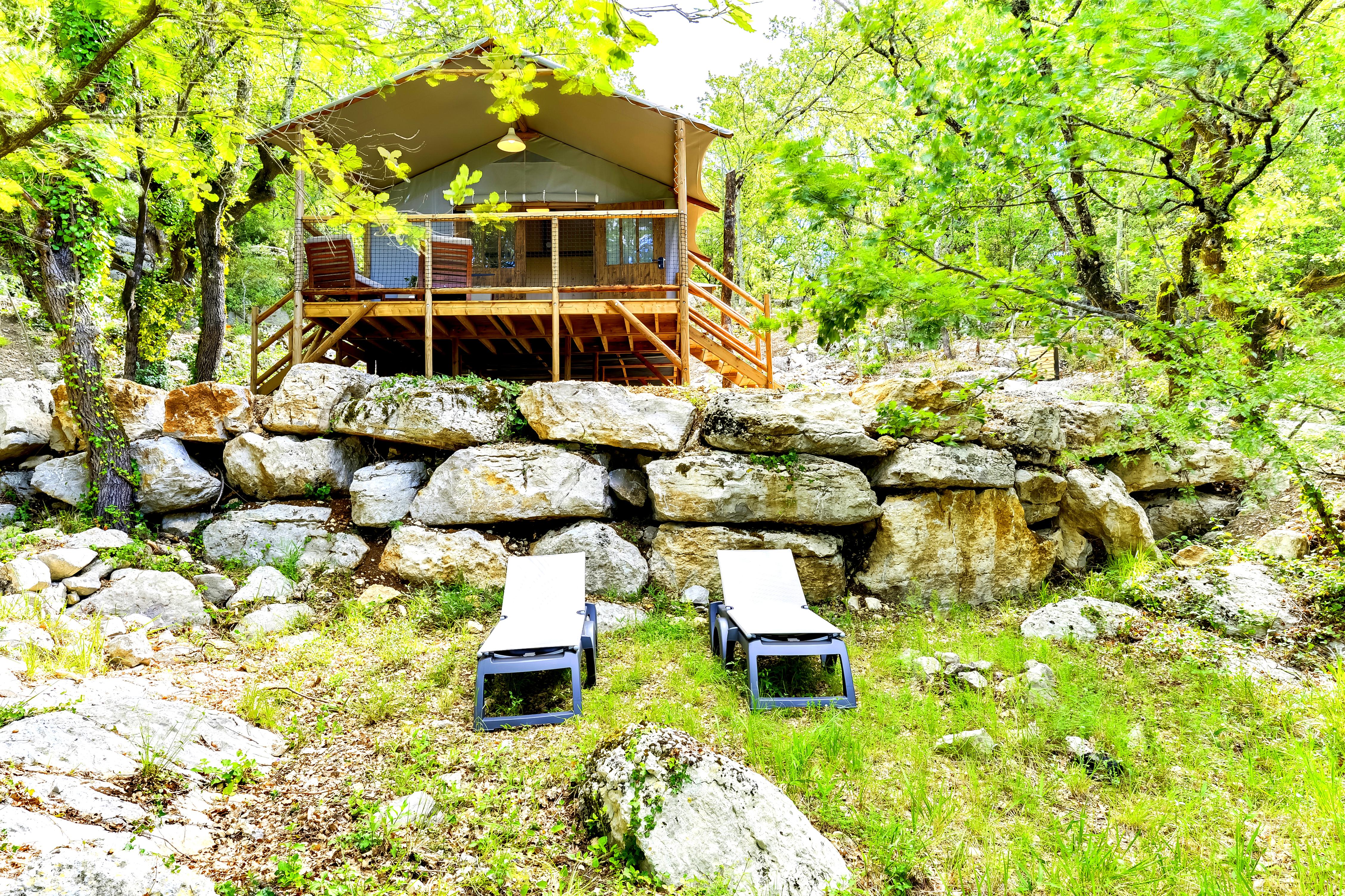 Cabane-Lodge La Frigoule - Balazuc