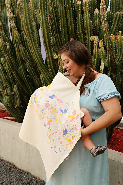 Nursing Cover - Splatter Magic