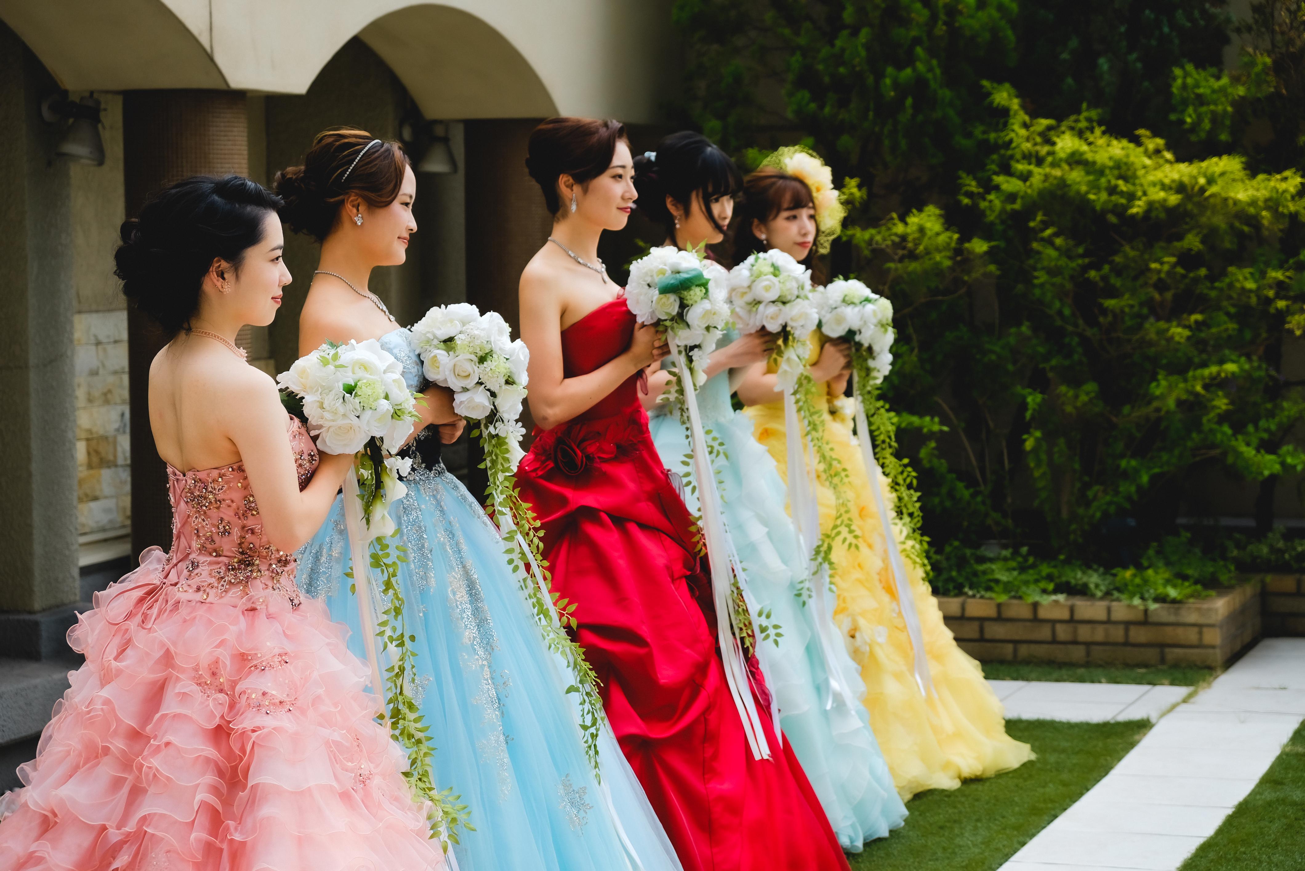 ドレス 全員2