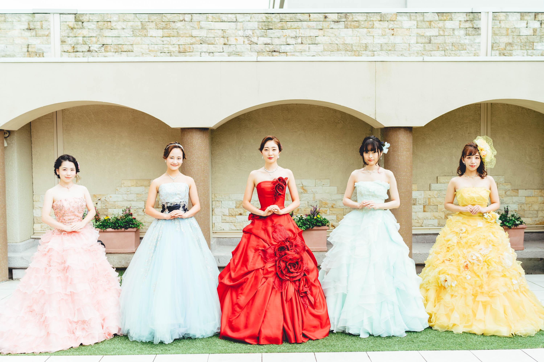ドレス 全員1