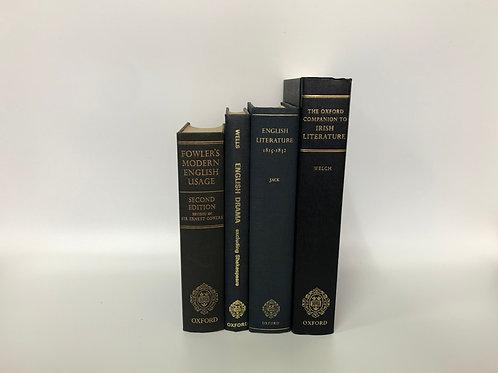 カラー洋書 ブルー/ネイビー 4冊セット(M239)