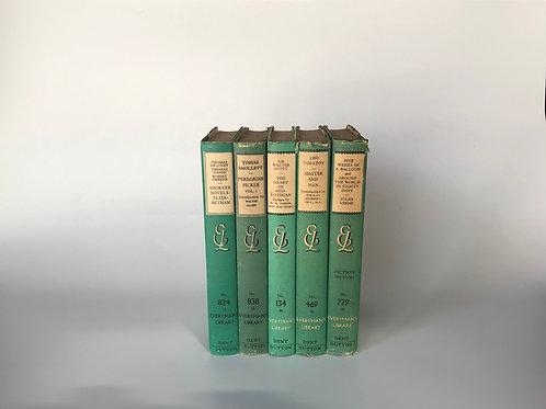 全集,揃い系洋書  グリーン 5冊セット (M127)