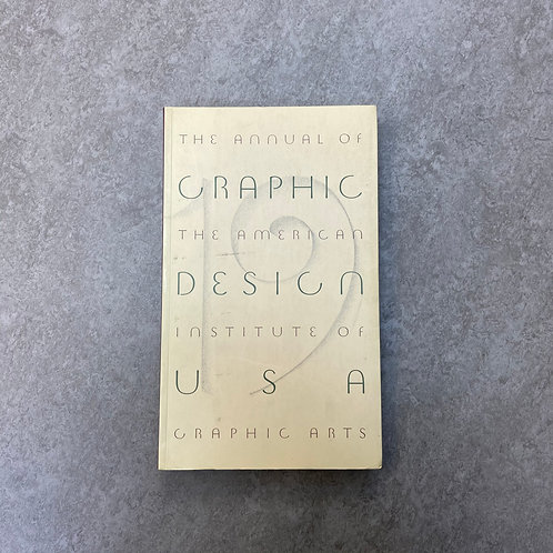 """Graphic Design U.S.A., No. 19""【デザイン】【ペーパーバック】【英語】"