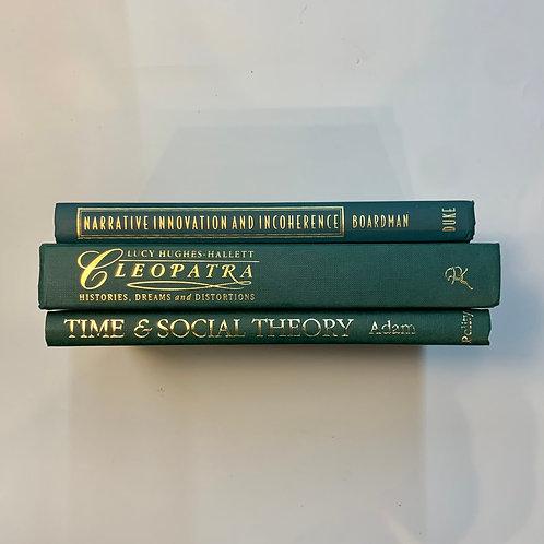 カラー洋書  グリーン3冊セット(M368)