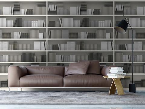 本棚のような壁紙、「Book Wallpaper」とは。