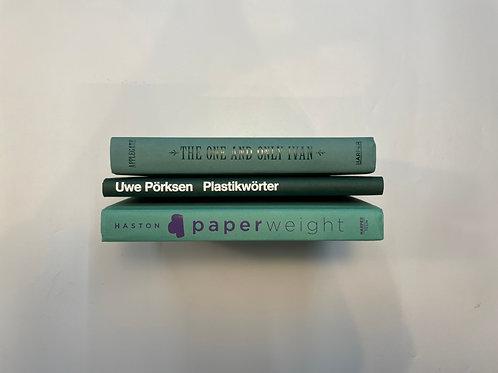カラー洋書  ライトグリーン×ダークグリーン 緑3冊セット(M421)