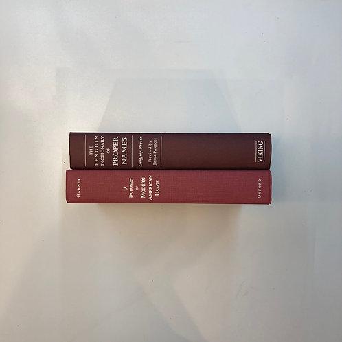 【大判】カラー洋書 ボルドー 2冊セット(M333)
