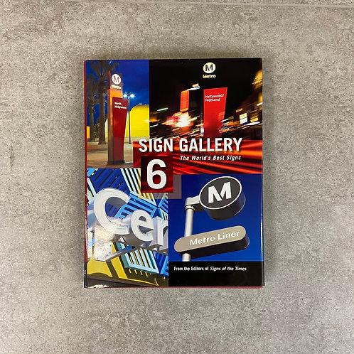 Sign Gallery 6 INTL【写真集】【ハードカバー】【英語】