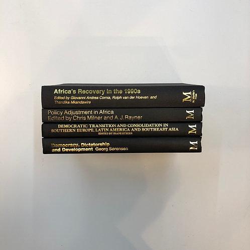 モノトーン洋書 ブラック 4冊セット(M325)