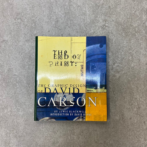 The End of Print: The Graphic Design of David Carson【デザイン】【ペーパーバック】【英語】