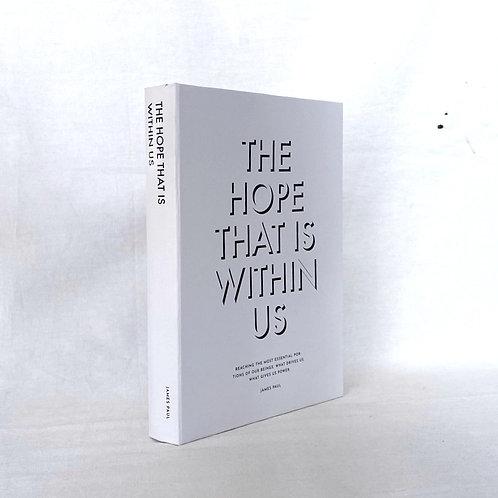 【イミテーションブック Sサイズ】THE HOPE THAT IS WITHIN US(ホワイト)