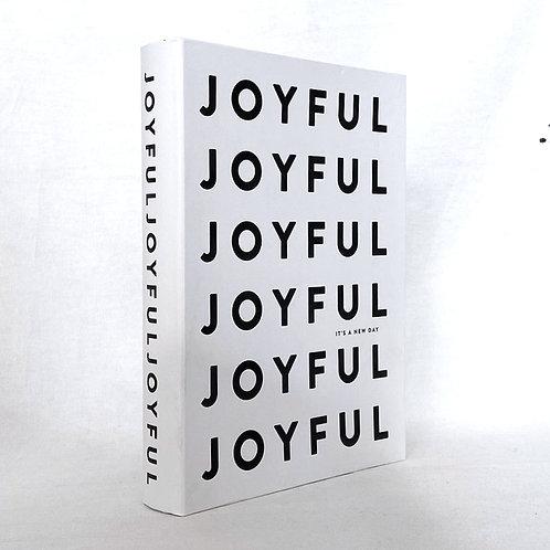 【イミテーションブック Lサイズ】JOYFUL (ホワイト)