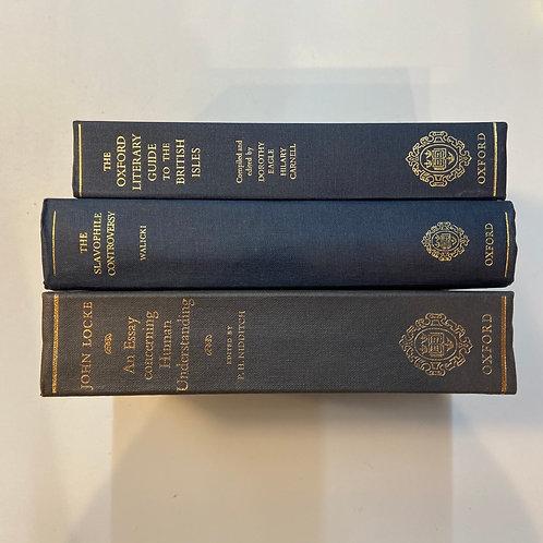 カラー洋書 ネイビー 3冊セット(M350)