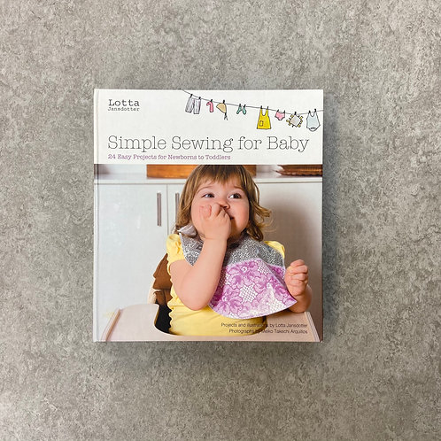 Lotta Jansdotter's Simple Sewing for Baby【裁縫】【ハードカバー】【英語】