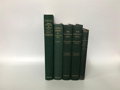 カラー洋書 グリーン 5冊セット(M238)