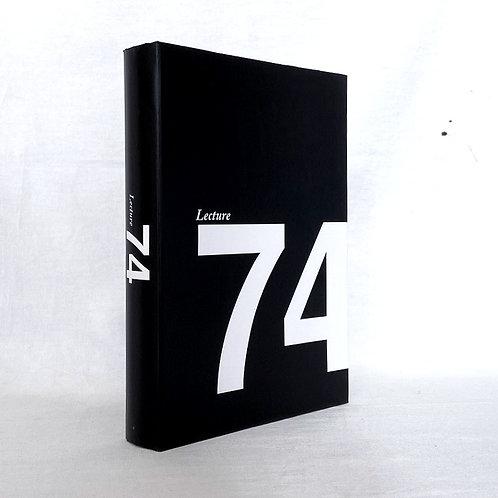 【イミテーションブック Lサイズ】 Lecture74 (ブラック)