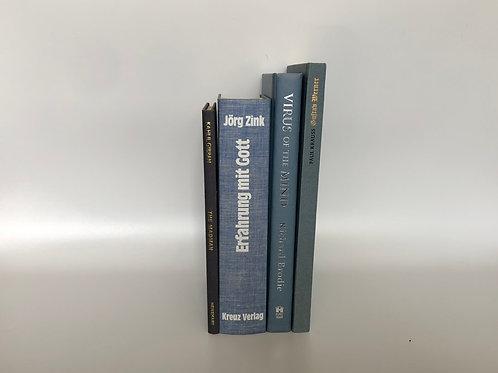 カラー洋書 寒色 ブルー 4冊セット(M221)
