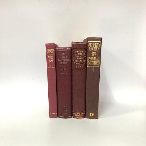 カラー洋書 ボルドー 4冊セット(M298)