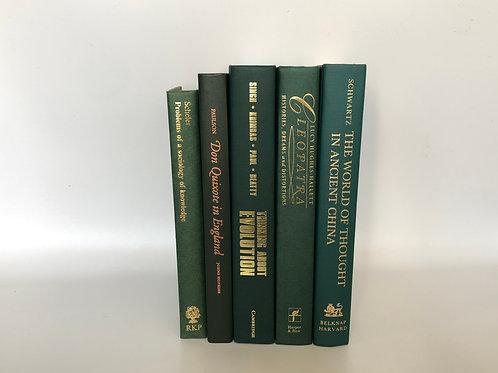 カラー洋書 グリーン 5冊セット(M271)