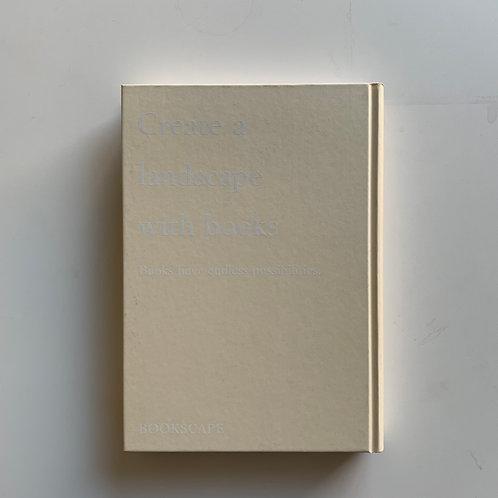【ダミーブック】Create a landscape with books(アイボリー)
