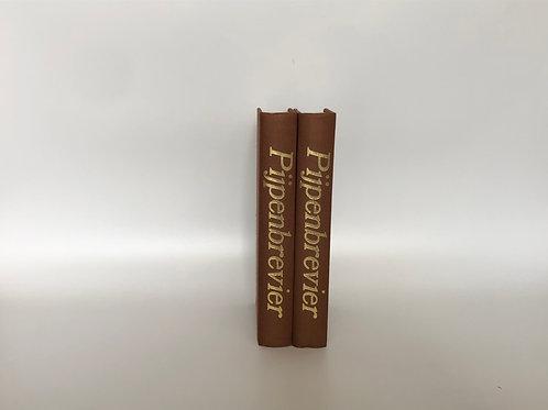モノトーン洋書 ブラウン 2冊セット(M219)