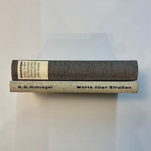 モノトーン洋書  ファブリックグレー2冊セット(M364)
