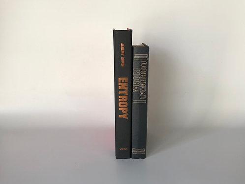 モノトーン洋書 ブラックオレンジ文字 2冊セット(M102)