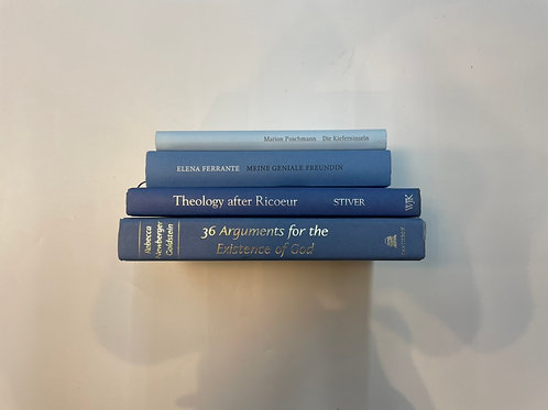 カラー洋書  ブルー 青4冊セット(M507)
