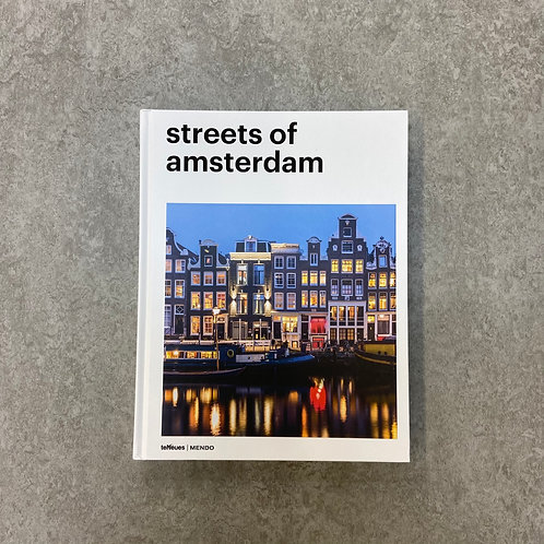 Streets of Amsterdam【写真集】【ハードカバー】【英語】