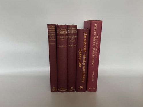 カラー洋書 ボルドー 5冊セット(M199)