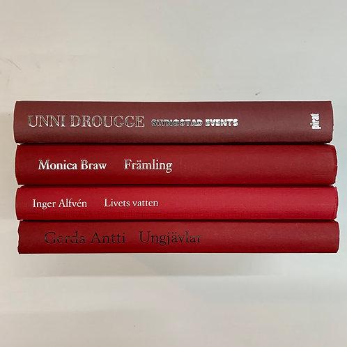 カラー洋書 レッド 4冊セット(M302)