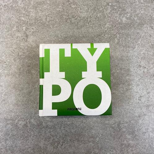 Typo Graphy (Cube Collection)【デザイン】【ハードカバー】【英語】