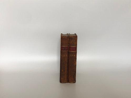 モノトーン洋書 ブラウン 2冊セット(M220)