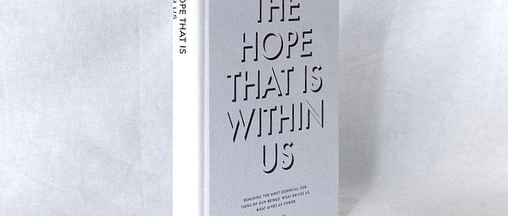 【イミテーションブック SSサイズ】THE HOPE THAT IS WITHIN US (ホワイト)