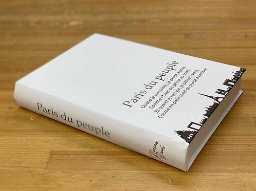 【訳あり商品】IMITATIONBOOK Paris du peuple(ホワイトL)