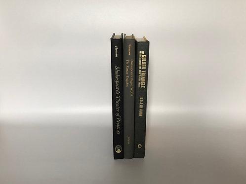 カラー洋書 ブラック/グレー 3冊セット(M172)