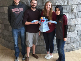 Munson lab goes to Roanoke for STEAM day!