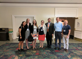 Munson Lab Students present at 1st Commonwealth Cancer Research Conference