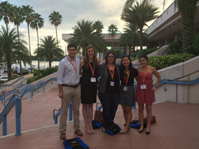 Munson Lab at BMES 2015 in Tampa, FL