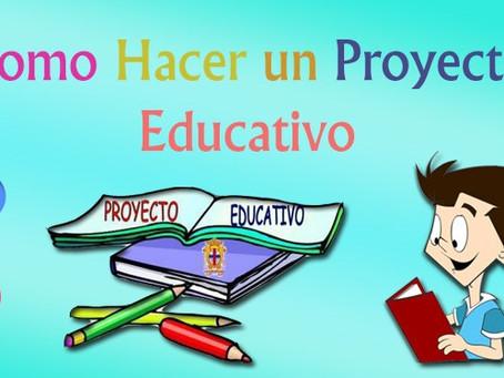 Como Hacer un Proyecto Educativo¿Qué es un Proyecto Educativo? Es un conjunto de actividades a real