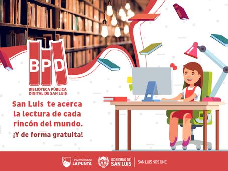 La provincia argentina de San Luis relanza su Biblioteca Pública Digital con más de 8.500 títulos